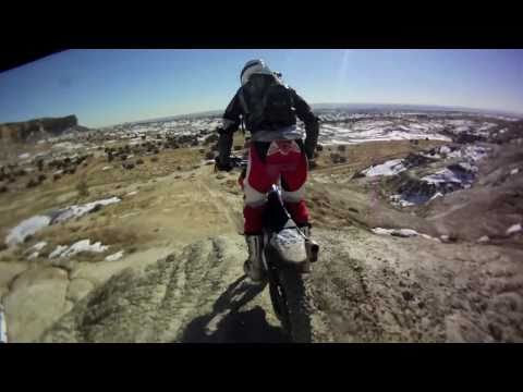 YZ125 Enduro Desert Riding - Kirtland, NM