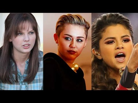 Miley Cyrus, Selena Gomez, Taylor Swift, Rihanna & More - Top 10 Celebrity Fights and Cat fights --