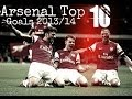 | arsenal top 10 goals 2013/14 | hd |
