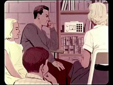 Vintage: Nuclear War for Housewives! - Family Fallout Shelters - 1960s Video - American Defense