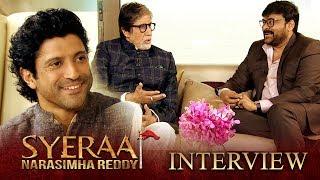 Sye Raa Interview - Chiranjeevi, Amitabh Bachchan