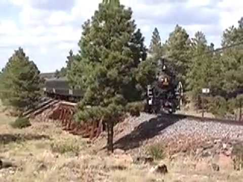 Grand Canyon Railway Back in Steam!