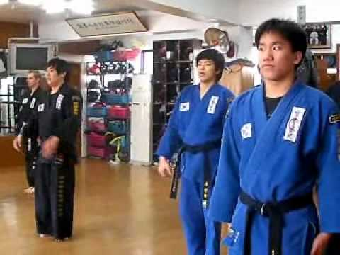 (72)Gongkwon Yusul's basic joint training (Korea jiu jitsu Hapkido)