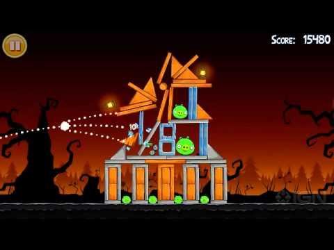 Angry Birds Halloween Trailer -j6hbbOs479c