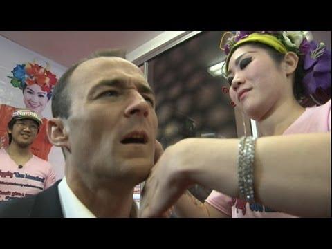 فيديو : صفع الوجه احدث عمليات التجميل في امريكا