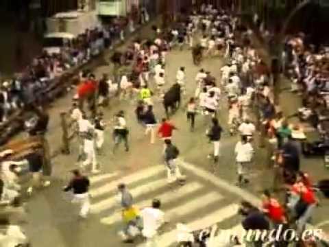 Encierro de San Fermín 11 de julio de 1997 360p