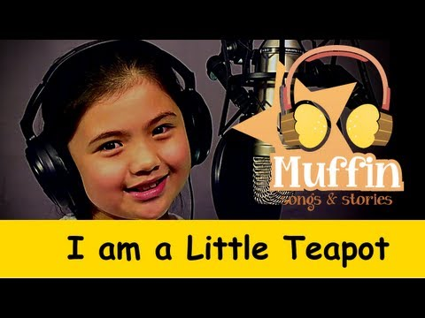 Muffin Songs - I'm a Little Teapot   | nursery rhymes & children songs with lyrics
