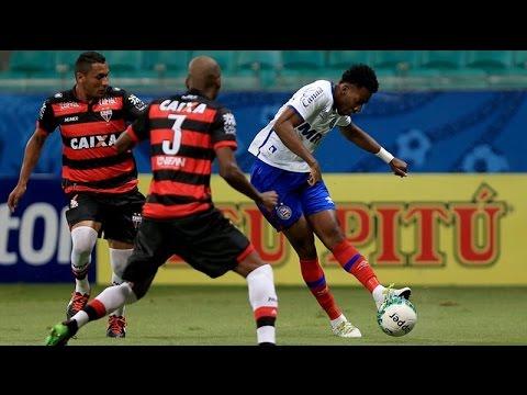 Veja os gols de Bahia 1 x 1 Atlético Goianiense