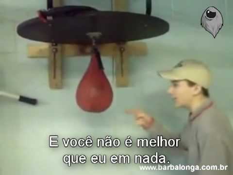 Punch bag fail (legendado)