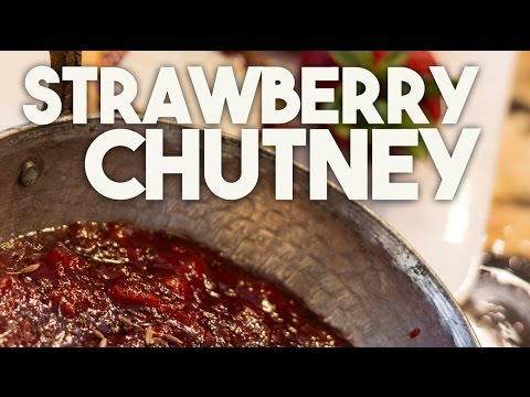 Sweet and Spicy Strawberry Chutney - Sweet and Spicy chutney