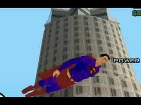 Superman Grand Theft Auto: San Andreas
