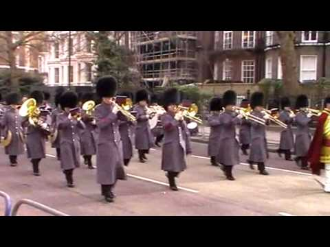 London Ceremonial for South Africa State Visit - March 2010