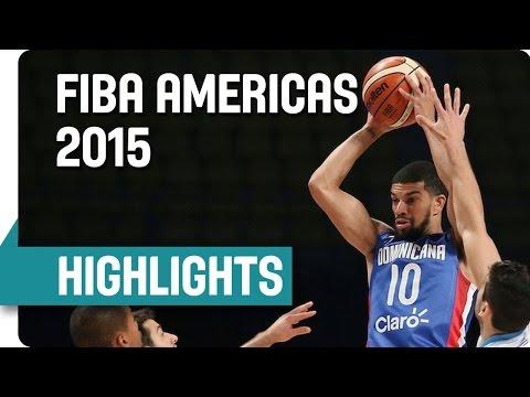 Highlights del juego de la Selección de Baloncesto de RD frente a Uruguay (imagen FIBA).