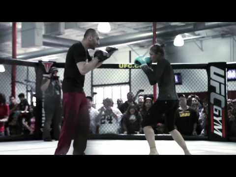 Ronda Rousey UFC 157 Open Workouts Video