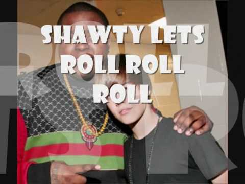 Justin Bieber ft. Sean Kingston - Shawty Lets Go (Full version) With Lyrics My World 2.0