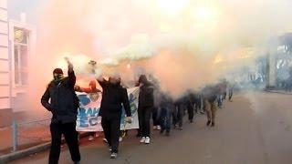 Марш ультрас Житомира за свободу Павличенко
