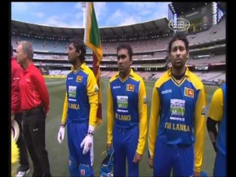 Sri Lankan National Anthem at the MCG (Australia)
