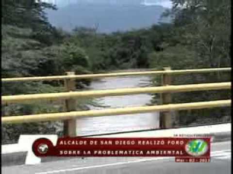 Valledupar Noticias - Alcalde de San Diego convoco foro ambiental para salvar el rio Cesar