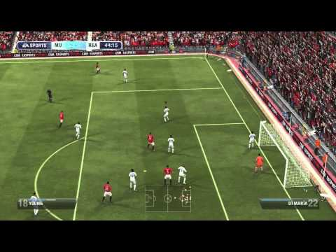 FIFA 13 Gameplay - Real Madrid vs. Manchester United (Full Game   Launch Impressions)