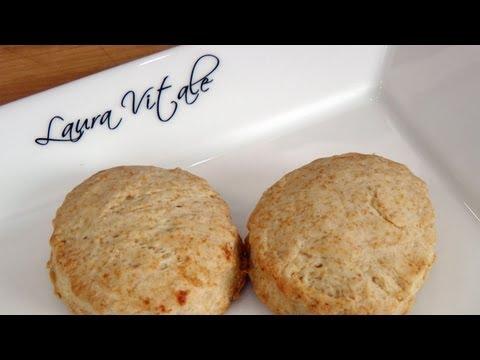 Buttermilk Biscuits Recipe - Laura Vitale - Laura in the Kitchen Episode 212