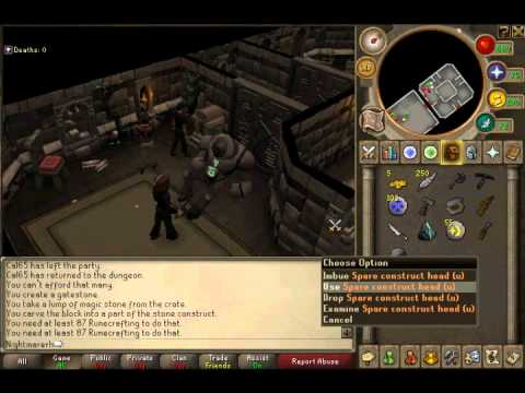 Runescape Dungeoneering Guide 1 - 80 (Skiller Guide)