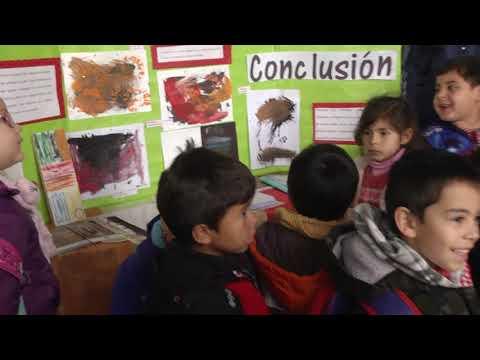 Alumnos de la Gaspar Benavento expusieron sus trabajos en la Feria Escolar