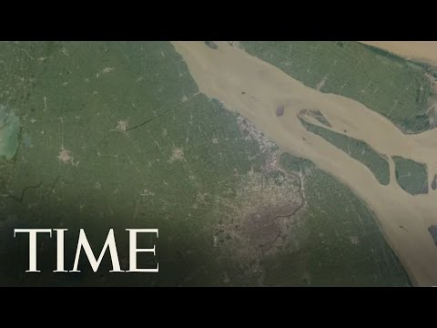 TIME, GOOGLE AND NASA: Timelapse of the Earth over the last 30 Years