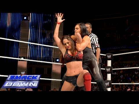 Nikki Bella vs. Aksana: SmackDown, Jan. 3, 2014