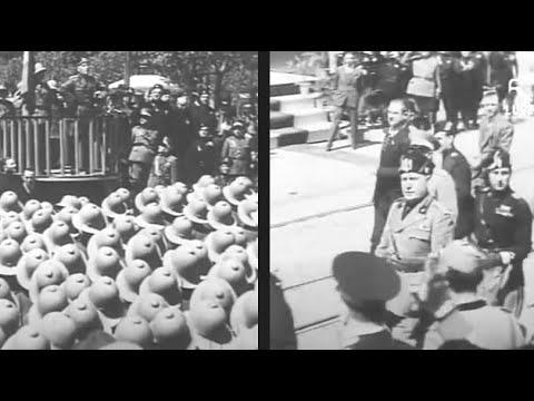 Benito Mussolini a Cagliari / 12 Maggio 1935 [Istituto LUCE]