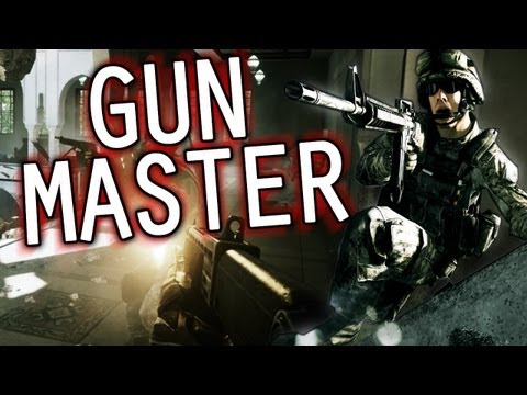 Gun Master - Battlefield 3 Donya Fortress &quot;Viking Commentary&quot; Gun Game Gameplay