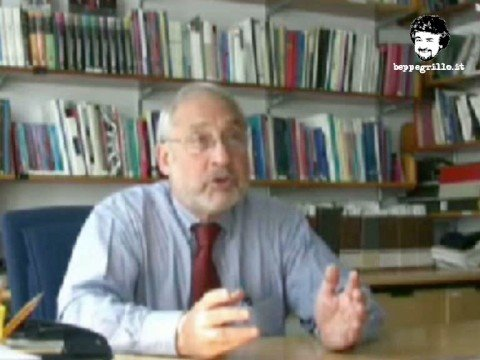 Le interviste del blog beppegrillo.it: Joseph Stiglitz