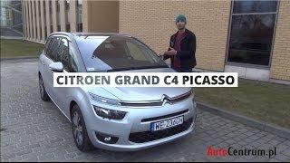 Citroen Grand C4 Picasso 1.6 HDI 115 KM, 2013 - test AutoCentrum.pl