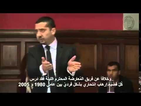 شاب  يرد على من يدعي أن الاسلام دين ارهاب - هذا الرجل شرف لكل مسلم ومسلمة