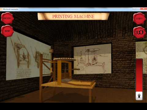 Leonardo da Vinci Virtual Museum 3D for iPhone