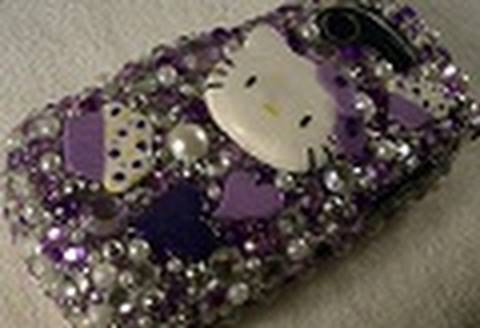 Hello Kitty Deco Den Phone Case / Decoracion para el telefono de Hello Kitty