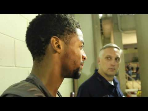 Darius Slayton Post-game Interview | Auburn at Ole Miss 2016