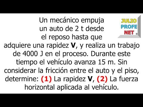 Teorema del Trabajo y la Energía Cinética