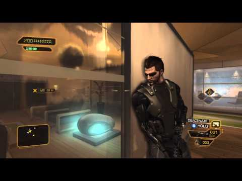 Deus Ex: Human Revolution - Hardest Difficulty & Pacifist Achievement Walkthrough - Part 61