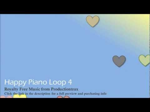 Happy Piano Loop 4 | Royalty Free Background Music