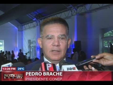 El presidente del Consejo Nacional de la Empresa Privada, Julio Brache