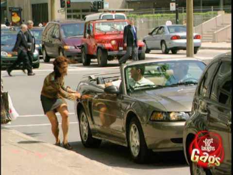 JFL Hidden Camera Pranks & Gags: Car Keying Lady