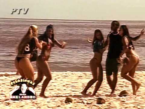 Rabudas na praia - Pegadinha do Mallandro