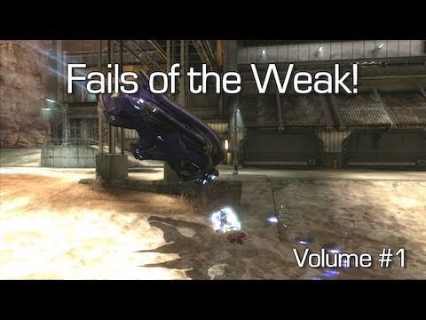 Halo: Reach - Fails of the Weak Volume #1 (Funny Halo Reach Bloopers)