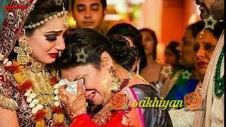 #whatsapp status  Bidai song Saathi sakhiyan bachpan ka yeh angna