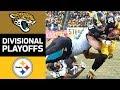 Jaguars vs. Steelers | NFL Divisional Round Game Highlights