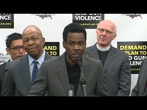 US, Chris Rock, Amanda Peet, Tony Bennett, Adam Scott Push for Gun Law Reform 2/6/13