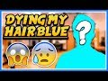 "GETTING MY HAIR DYED BLUE!! 💙 😨 💙 | ""Bootleg DanTDM Haircut"" 