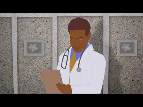 medical animation in flash HIV stages