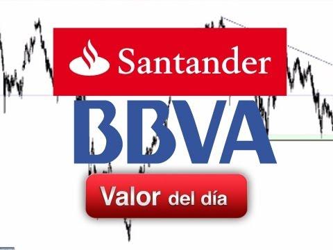 Análisis Técnico de BBVA y Santander por Alberto Rodriguez en Estrategias tv (05.09.2011)