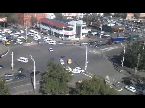 Авария в Астрахани 30 09 2014